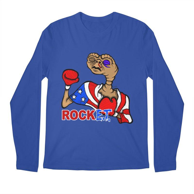 Rock E.T. Men's Regular Longsleeve T-Shirt by brettgilbert's Artist Shop