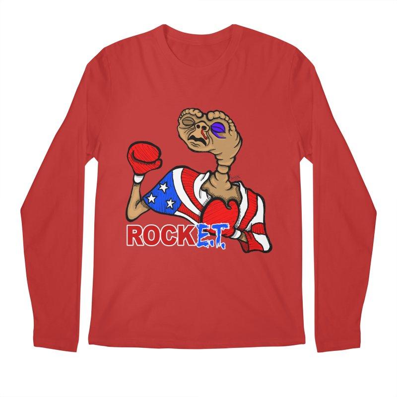 Rock E.T. Men's Longsleeve T-Shirt by brettgilbert's Artist Shop