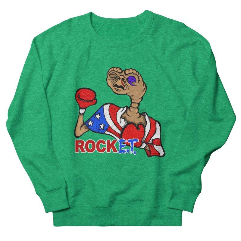 Rock E.T. Women's Sweatshirt by brettgilbert's Artist Shop