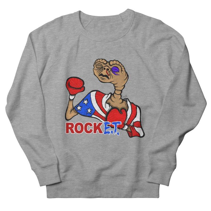 Rock E.T. Women's French Terry Sweatshirt by brettgilbert's Artist Shop