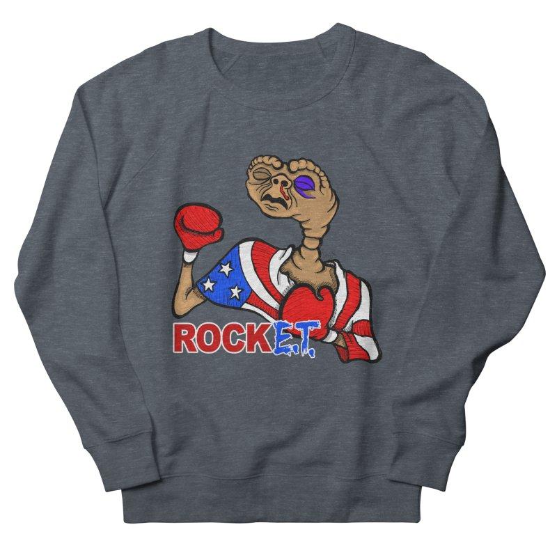 Rock E.T. Men's Sweatshirt by brettgilbert's Artist Shop