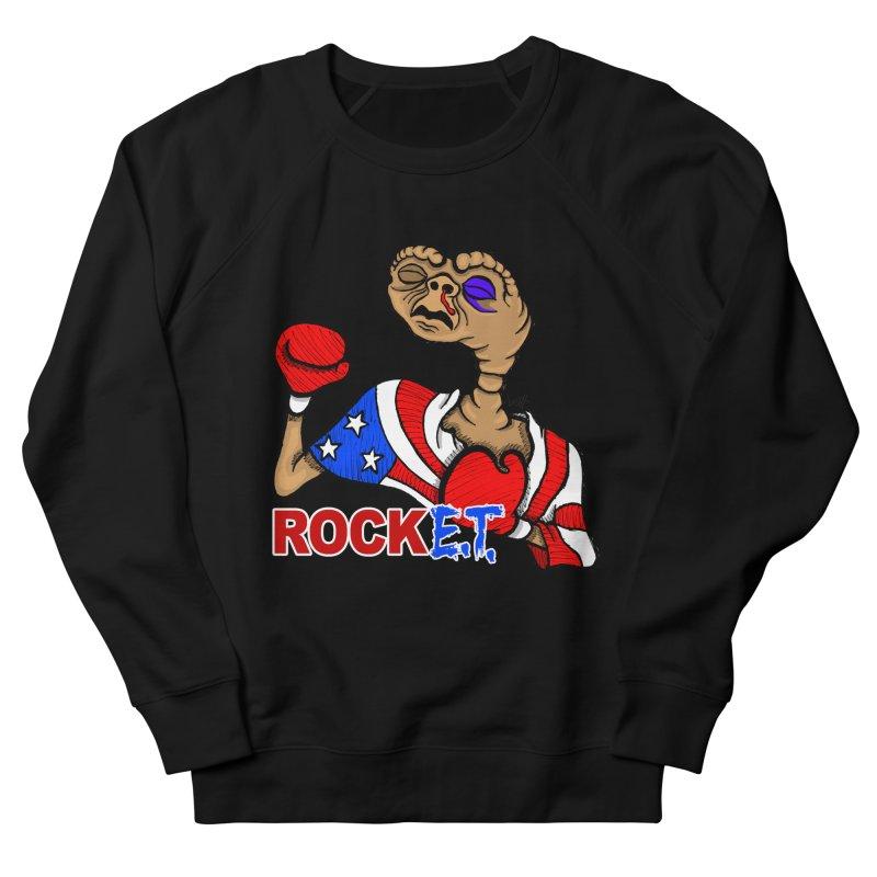 Rock E.T. Men's French Terry Sweatshirt by brettgilbert's Artist Shop