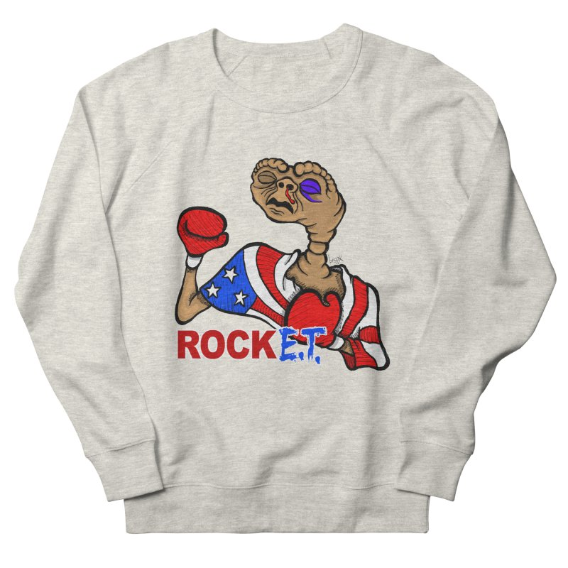 Rock E.T. Men's Sweatshirt by brettgilbert's Artist Shop