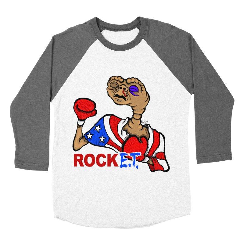 Rock E.T. Women's Baseball Triblend Longsleeve T-Shirt by brettgilbert's Artist Shop