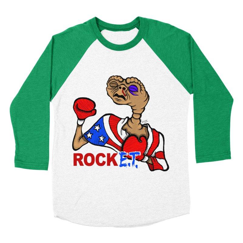 Rock E.T. Women's Baseball Triblend T-Shirt by brettgilbert's Artist Shop