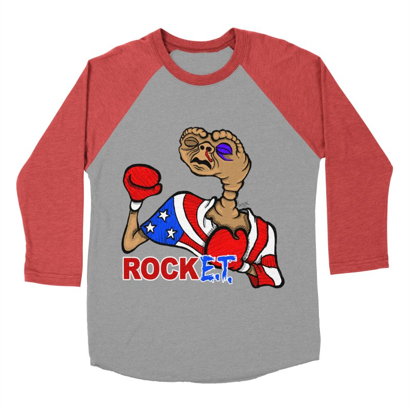Rock E.T. Women's Baseball Triblend T-Shirt by brettgilbert's Artist Shop