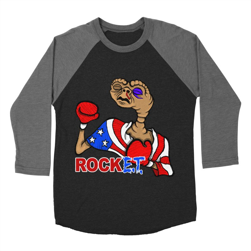 Rock E.T. Women's Baseball Triblend Longsleeve T-Shirt by brettgilbert's Artist Shop
