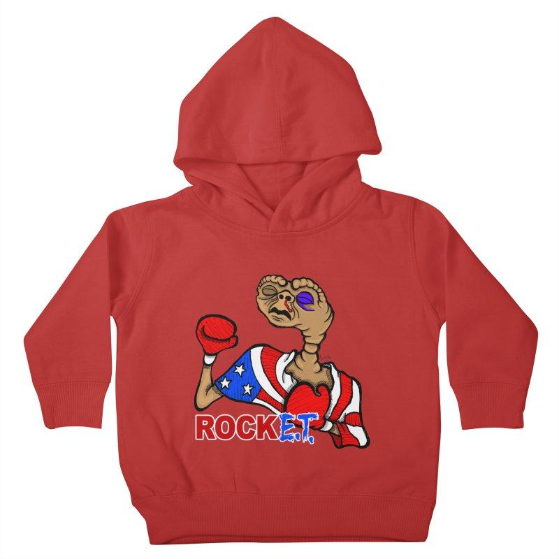 Rock E.T. Kids Toddler Pullover Hoody by brettgilbert's Artist Shop
