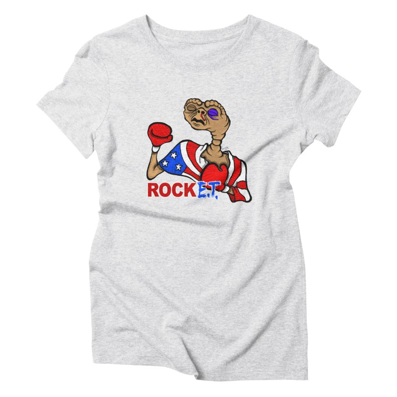 Rock E.T. Women's T-Shirt by brettgilbert's Artist Shop