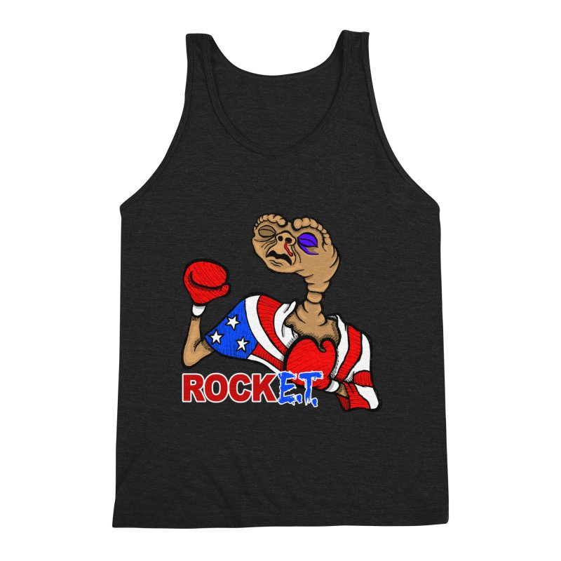 Rock E.T. Men's Triblend Tank by brettgilbert's Artist Shop