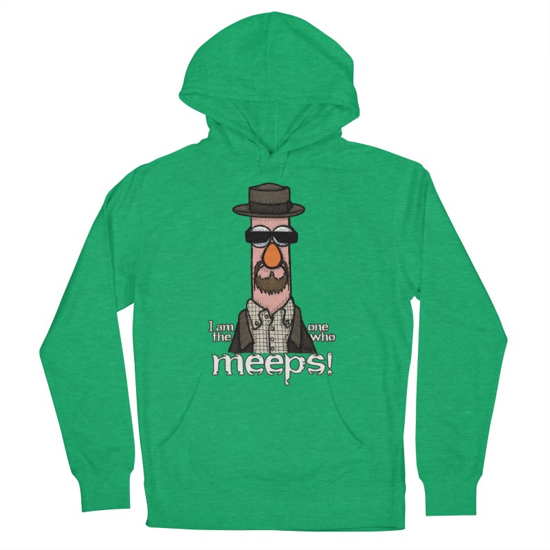 I Am The One Who Meeps Men's French Terry Pullover Hoody by brettgilbert's Artist Shop