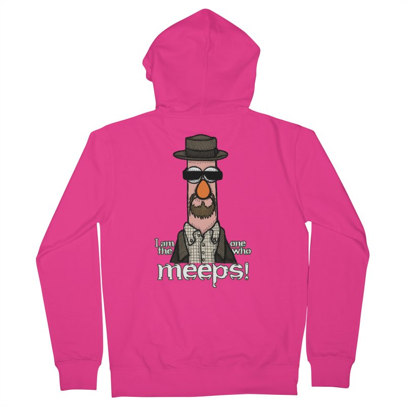 I Am The One Who Meeps Men's Zip-Up Hoody by brettgilbert's Artist Shop