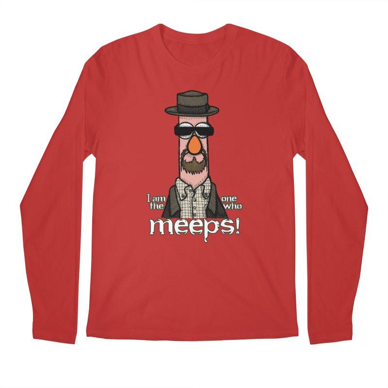 I Am The One Who Meeps Men's Regular Longsleeve T-Shirt by brettgilbert's Artist Shop