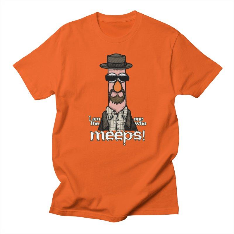 I Am The One Who Meeps Men's Regular T-Shirt by brettgilbert's Artist Shop