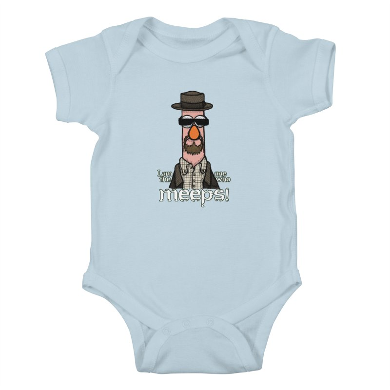 I Am The One Who Meeps Kids Baby Bodysuit by brettgilbert's Artist Shop