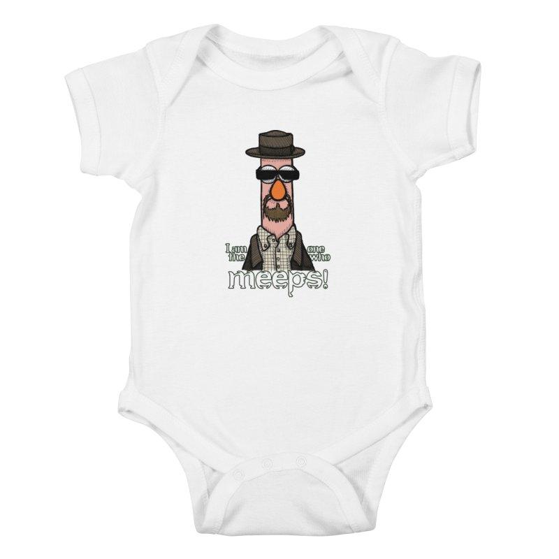 I Am The One Who Meeps Kids Baby Bodysuit by brettgilbert's Artist Shop