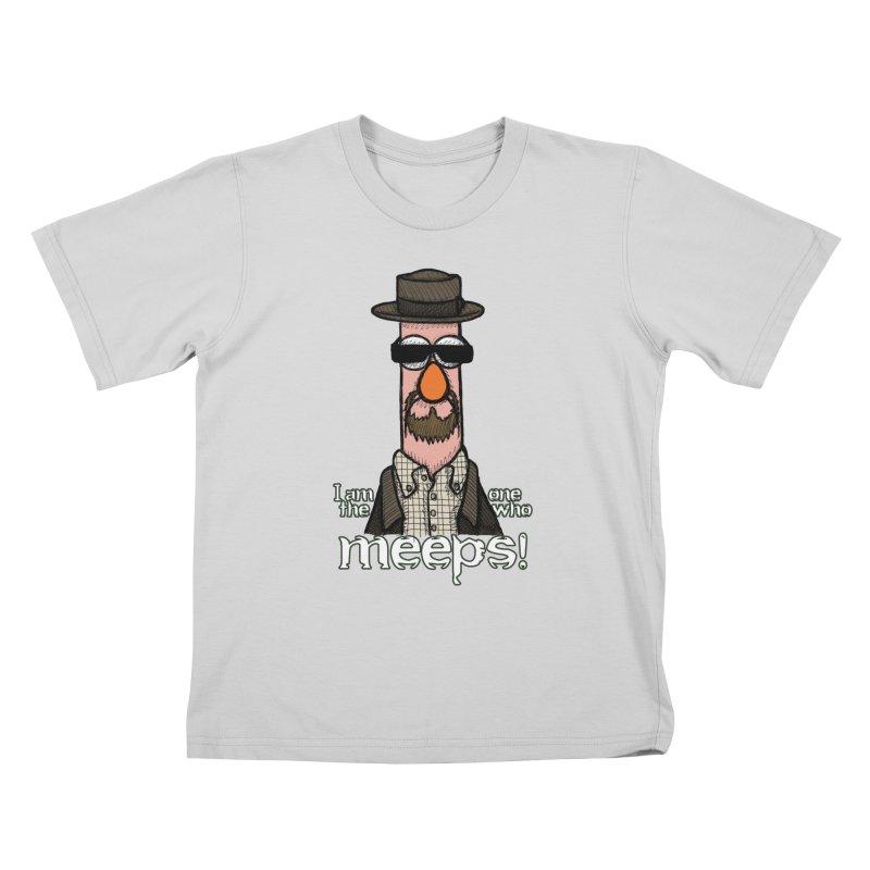 I Am The One Who Meeps Kids T-Shirt by brettgilbert's Artist Shop