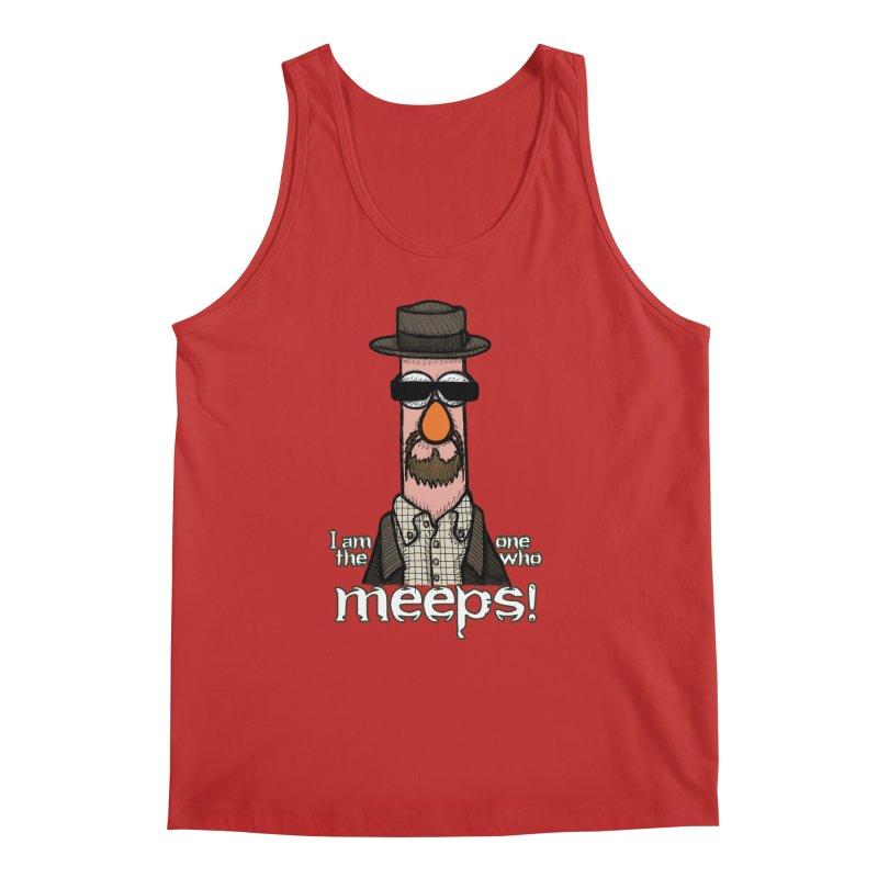 I Am The One Who Meeps Men's Regular Tank by brettgilbert's Artist Shop