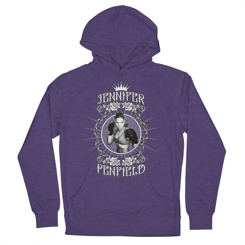 Jennifer Penfield Fighter Tee-Shirt Men's French Terry Pullover Hoody by brettgilbert's Artist Shop