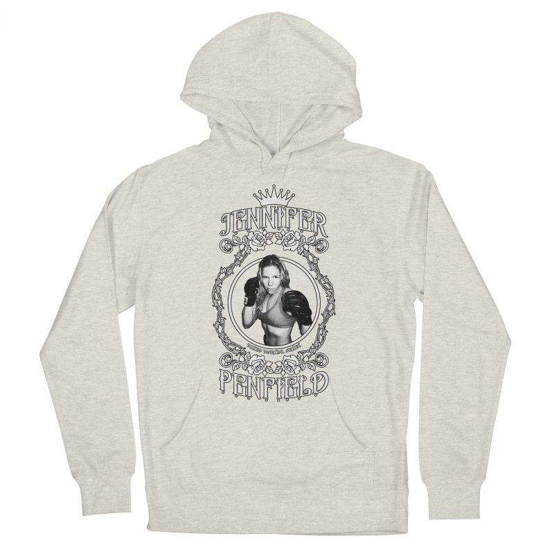 Jennifer Penfield Fighter Tee-Shirt Men's French Terry Pullover Hoody by brettgilbert's Artist Shop