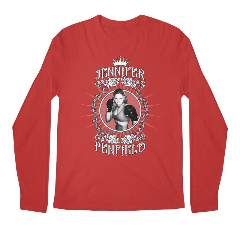Jennifer Penfield Fighter Tee-Shirt Men's Regular Longsleeve T-Shirt by brettgilbert's Artist Shop
