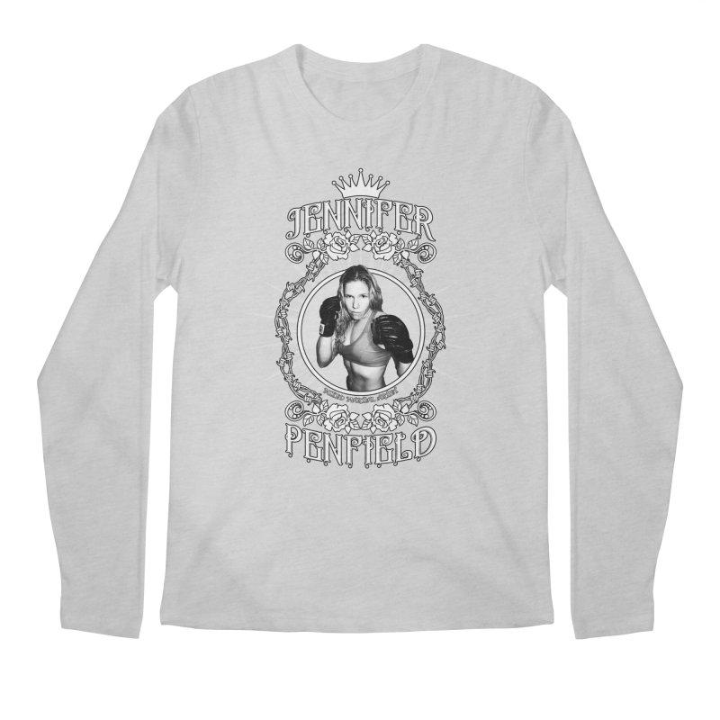 Jennifer Penfield Fighter Tee-Shirt Men's Longsleeve T-Shirt by brettgilbert's Artist Shop