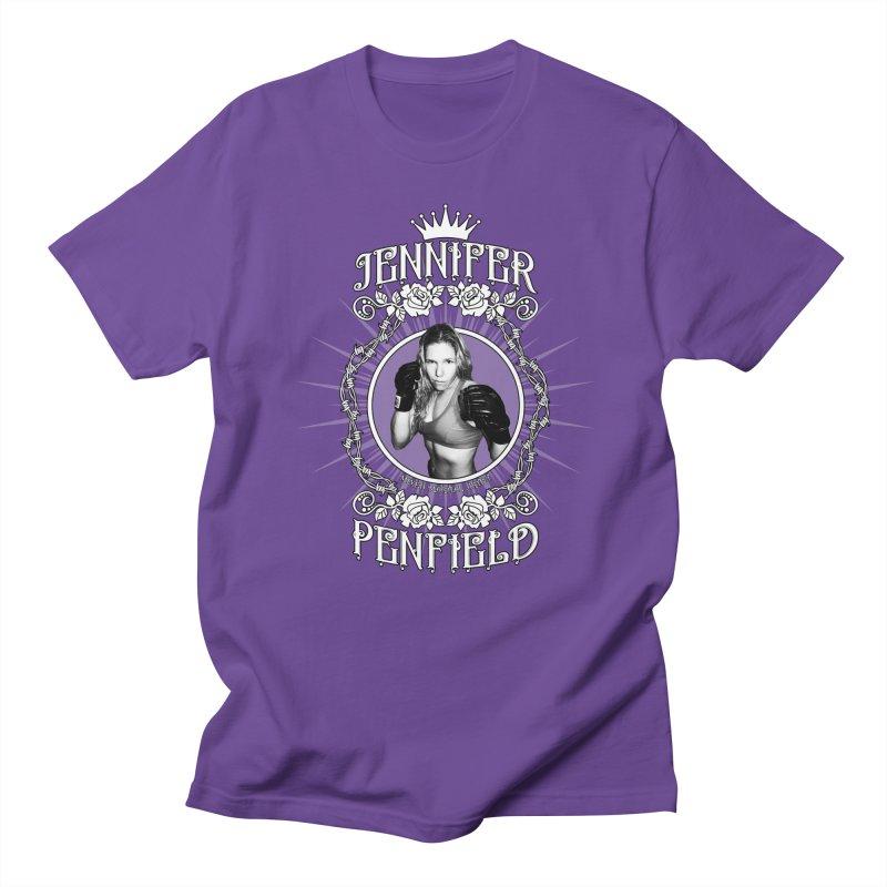 Jennifer Penfield Fighter Tee-Shirt Men's T-Shirt by brettgilbert's Artist Shop