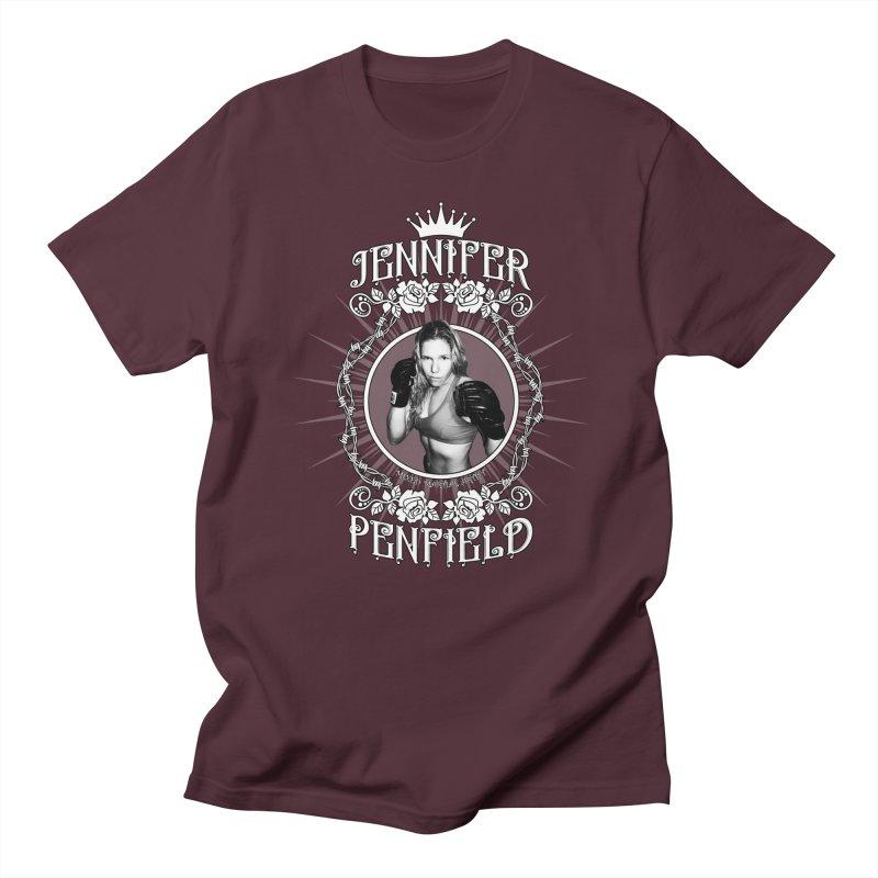 Jennifer Penfield Fighter Tee-Shirt Men's Regular T-Shirt by brettgilbert's Artist Shop