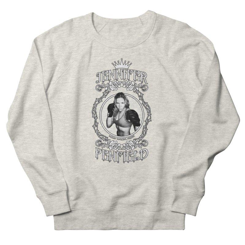 Jennifer Penfield Fighter Tee-Shirt Women's French Terry Sweatshirt by brettgilbert's Artist Shop