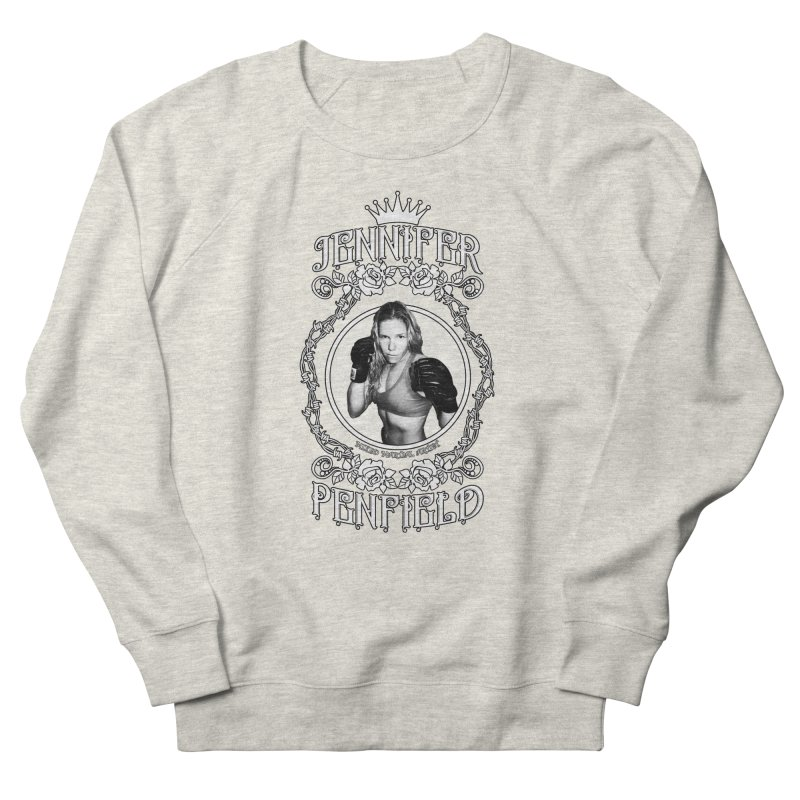 Jennifer Penfield Fighter Tee-Shirt Men's French Terry Sweatshirt by brettgilbert's Artist Shop