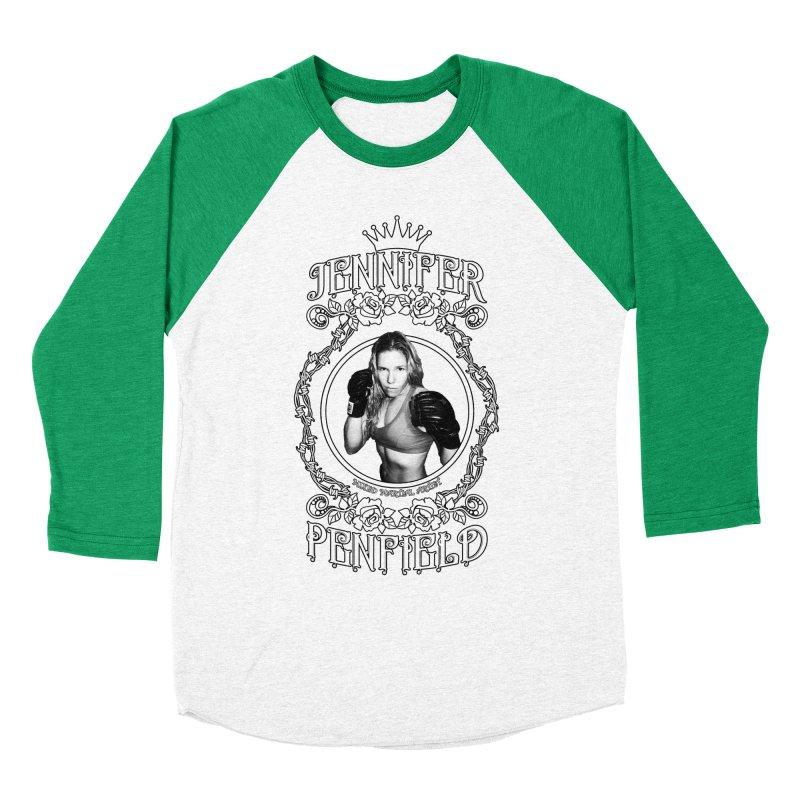 Jennifer Penfield Fighter Tee-Shirt Women's Baseball Triblend Longsleeve T-Shirt by brettgilbert's Artist Shop