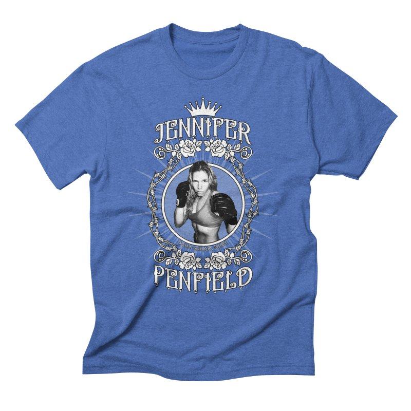 Jennifer Penfield Fighter Tee-Shirt Men's Triblend T-shirt by brettgilbert's Artist Shop
