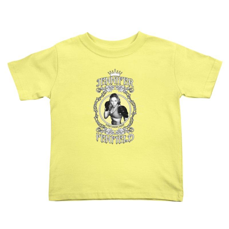 Jennifer Penfield Fighter Tee-Shirt Kids Toddler T-Shirt by brettgilbert's Artist Shop