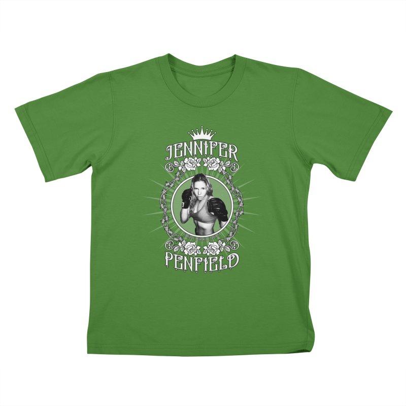 Jennifer Penfield Fighter Tee-Shirt   by brettgilbert's Artist Shop