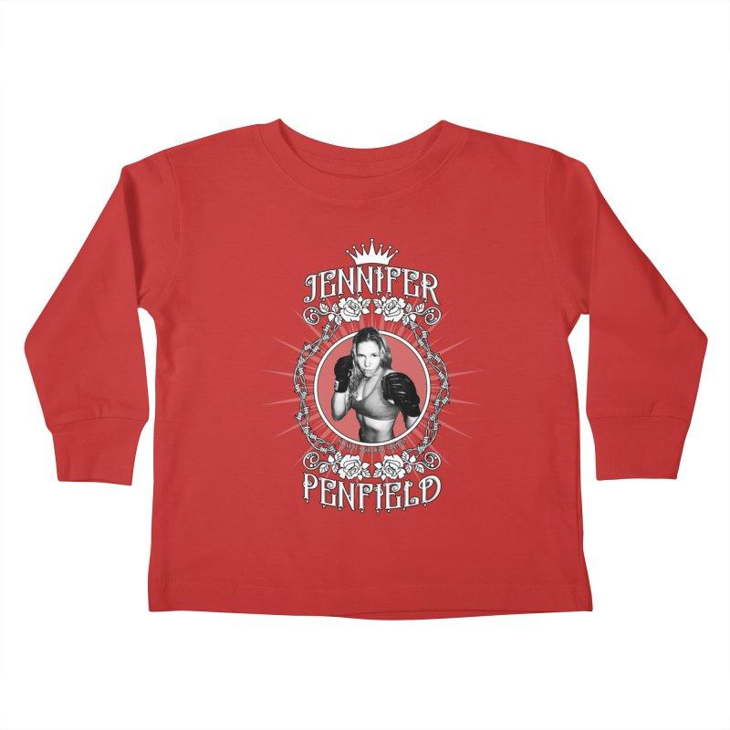 Jennifer Penfield Fighter Tee-Shirt Kids Toddler Longsleeve T-Shirt by brettgilbert's Artist Shop