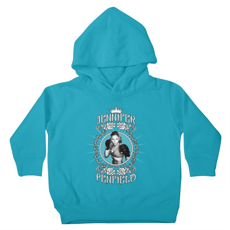 Jennifer Penfield Fighter Tee-Shirt Kids Toddler Pullover Hoody by brettgilbert's Artist Shop