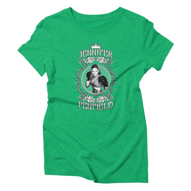 Jennifer Penfield Fighter Tee-Shirt Women's Triblend T-Shirt by brettgilbert's Artist Shop
