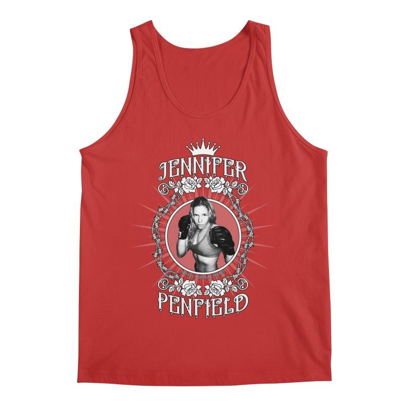 Jennifer Penfield Fighter Tee-Shirt Men's Regular Tank by brettgilbert's Artist Shop