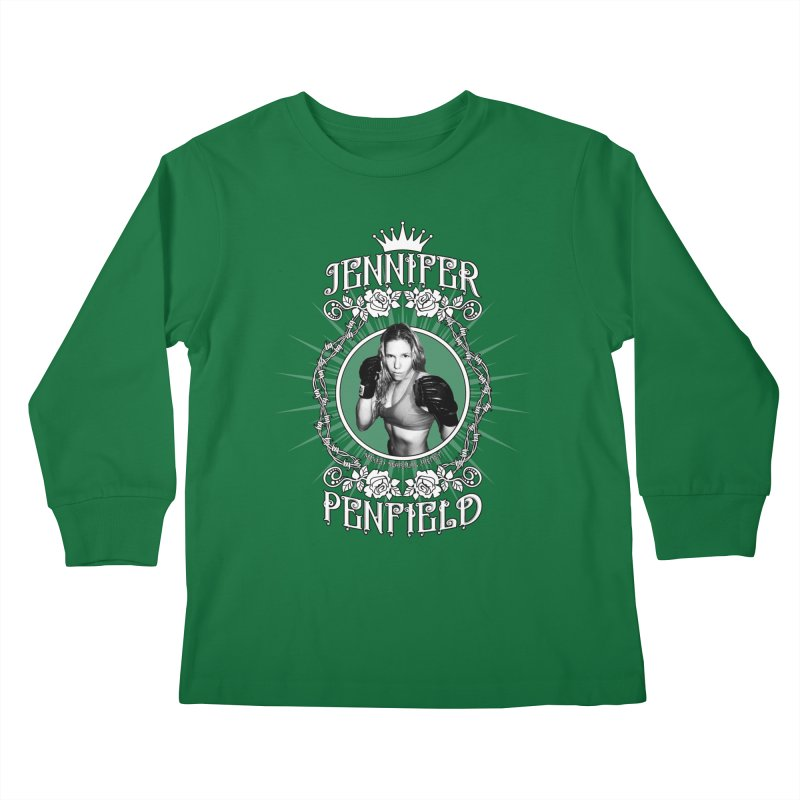 Jennifer Penfield Fighter Tee-Shirt Kids Longsleeve T-Shirt by brettgilbert's Artist Shop