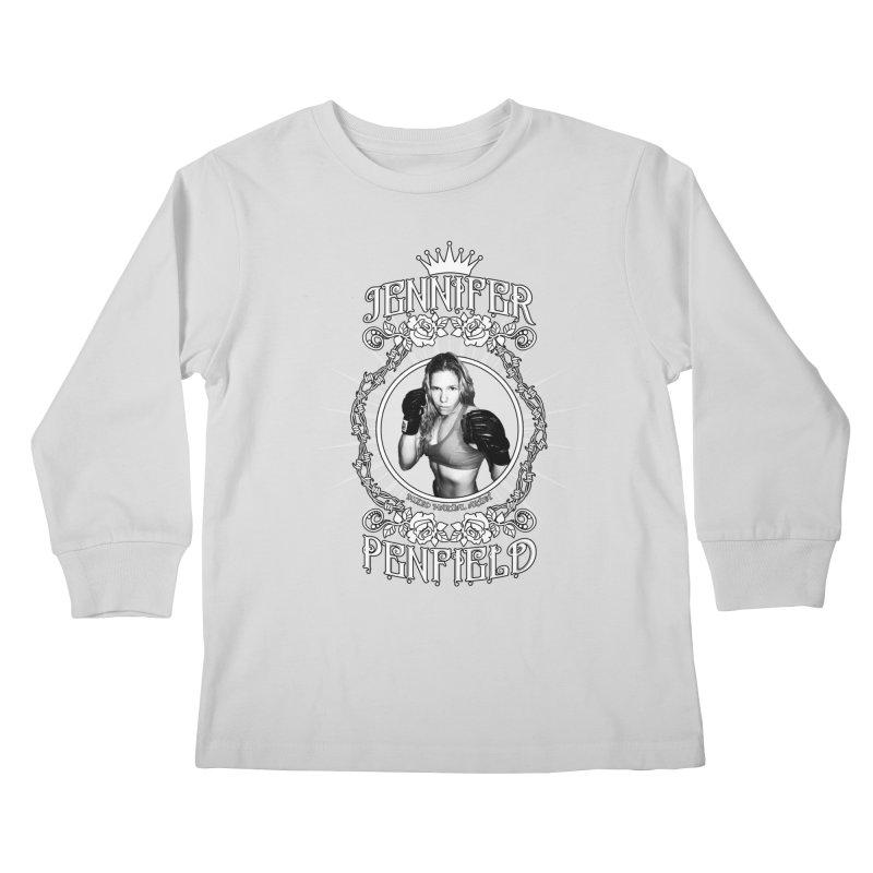 Jennifer Penfield Fighter Tee-Shirt Kids Longsleeve T-Shirt by brettgilbert's Artist Shop