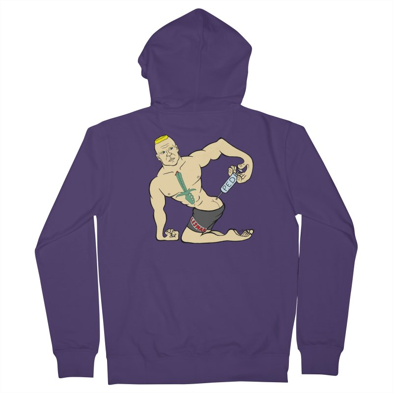 No One Likes a Cheater Women's French Terry Zip-Up Hoody by brettgilbert's Artist Shop