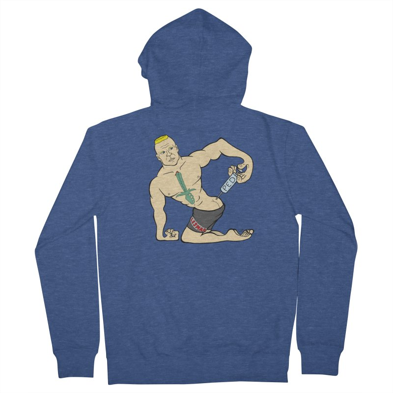 No One Likes a Cheater Men's French Terry Zip-Up Hoody by brettgilbert's Artist Shop