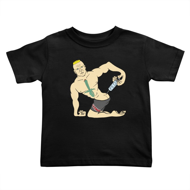 No One Likes a Cheater Kids Toddler T-Shirt by brettgilbert's Artist Shop