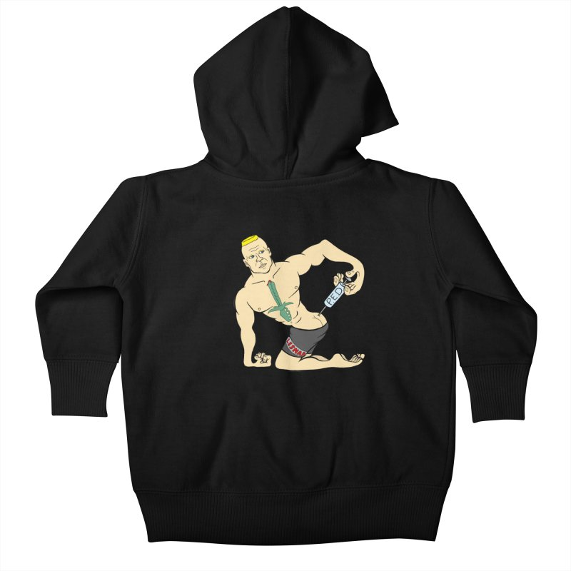 No One Likes a Cheater Kids Baby Zip-Up Hoody by brettgilbert's Artist Shop