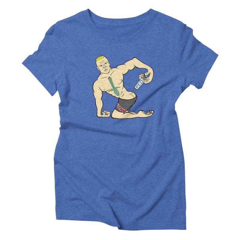 No One Likes a Cheater Women's Triblend T-shirt by brettgilbert's Artist Shop
