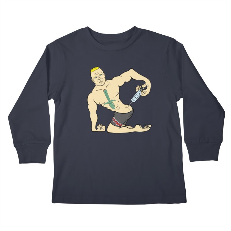 No One Likes a Cheater Kids Longsleeve T-Shirt by brettgilbert's Artist Shop