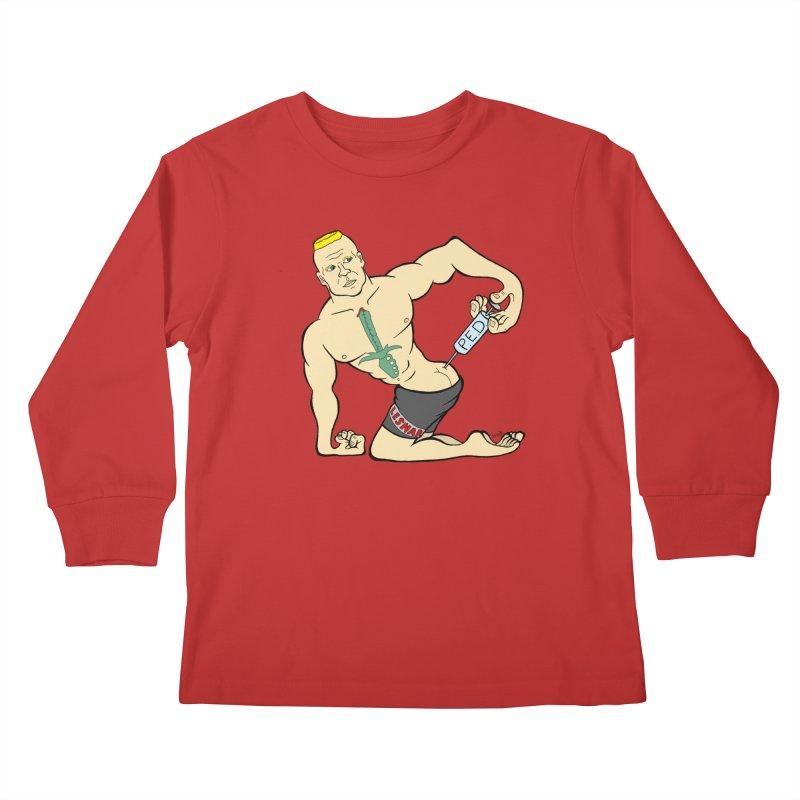 No One Likes a Cheater Kids Longsleeve T-Shirt by brettgilbert's Artist Shop