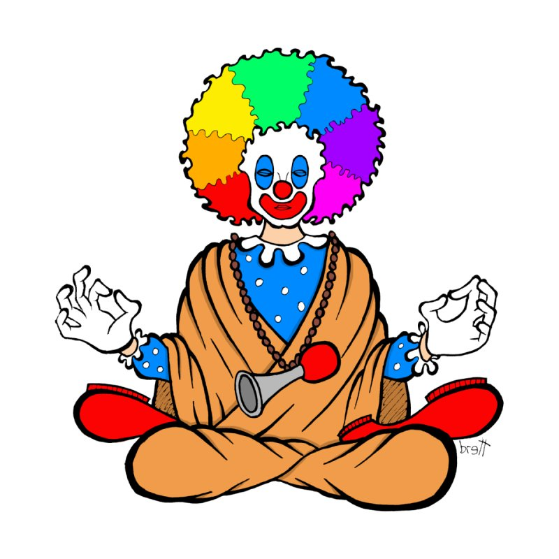 Zen Clown by brettgilbert's Artist Shop