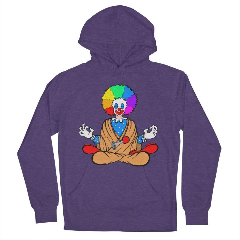 Zen Clown Men's Pullover Hoody by brettgilbert's Artist Shop