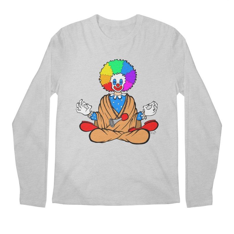 Zen Clown Men's Longsleeve T-Shirt by brettgilbert's Artist Shop